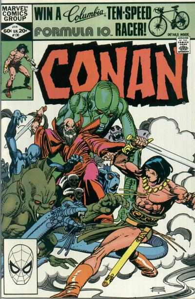 CONAN THE BARBARIAN #130 (NEWSSTAND)