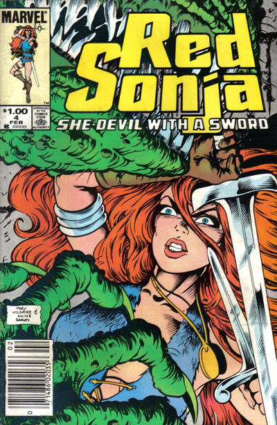 RED SONJA #4 (DIRECT)