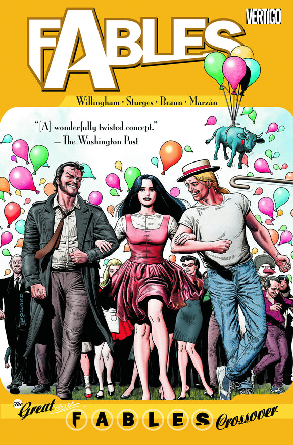 FABLES TP VOL 13 THE GREAT FABLES CROSSOVER