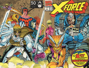 X FORCE #1 (2ND PRINTING)