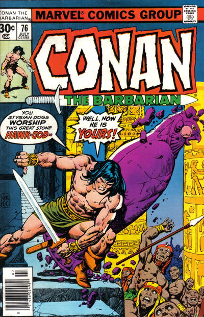 CONAN THE BARBARIAN #76