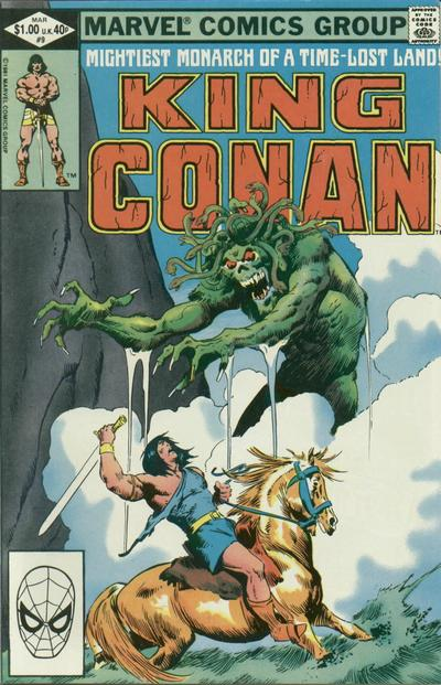 KING CONAN #9 (NEWSSTAND)