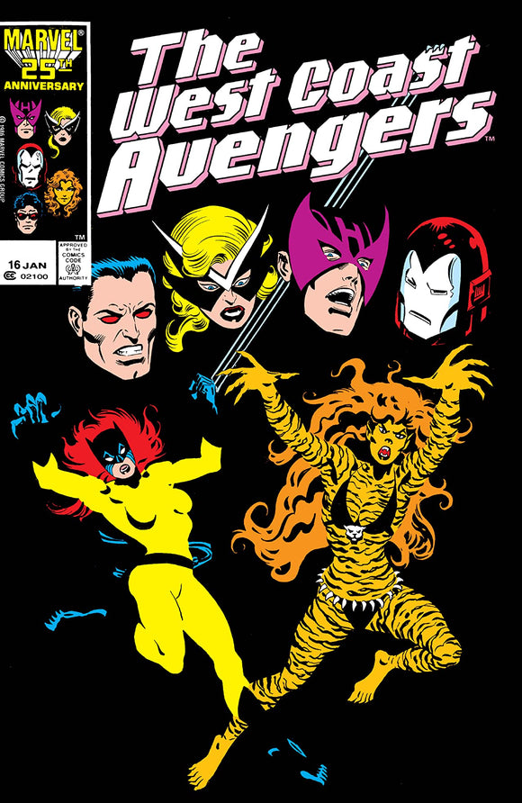 WEST COAST AVENGERS #16 (DIRECT)