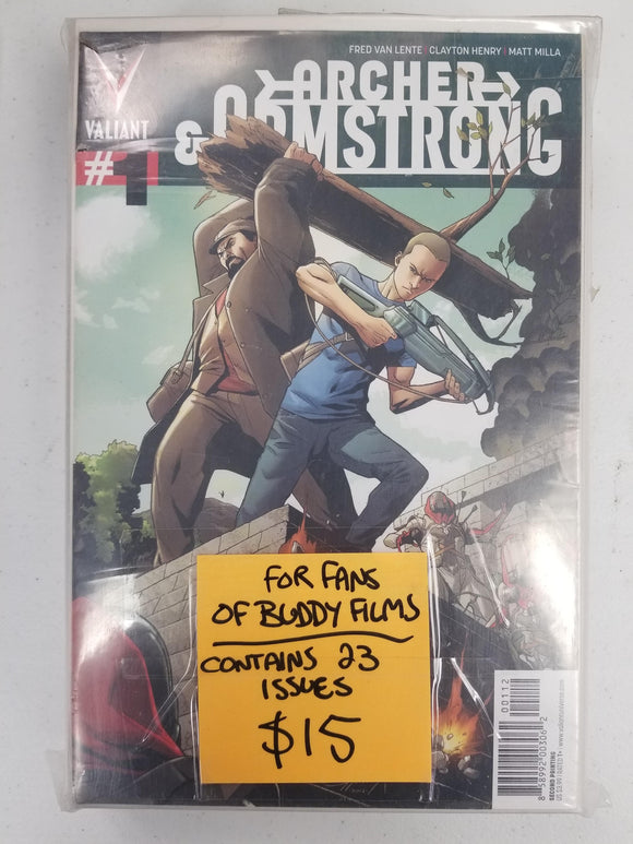 ARCHER AND ARMSTRONG #1-21 BUNDLE