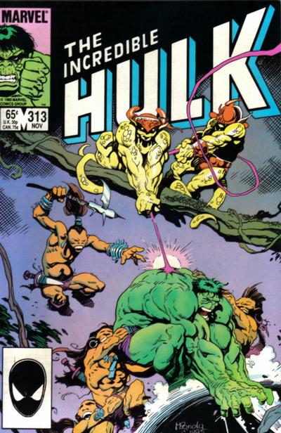 INCREDIBLE HULK #313