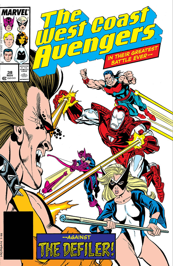 WEST COAST AVENGERS #38 (DIRECT)