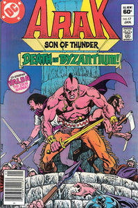 ARAK SON OF THUNDER #17