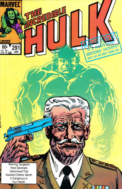 INCREDIBLE HULK 291 (DIRECT)