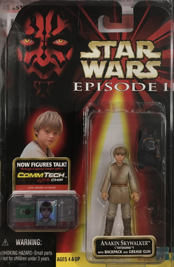 STAR WARS FIGURE / ANAKIN SKYWALKER (TATOOINE)