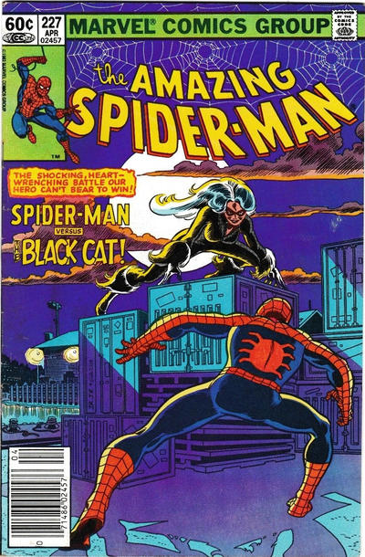 AMAZING SPIDER MAN #227 (NEWSSTAND)