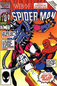 WEB OF SPIDER MAN #17 (DIRECT)