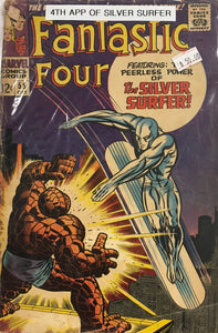 FANTASTIC FOUR #55 (4TH APP OF SILVER SURFER)