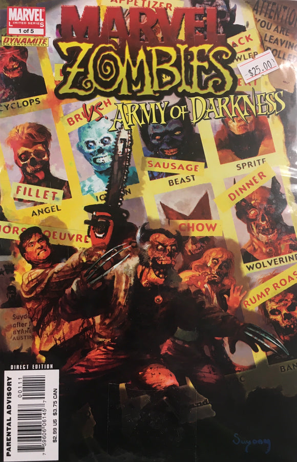 MARVEL ZOMBIES ARMY OF DARKNESS 1-5 COMPLETE BUNDLE