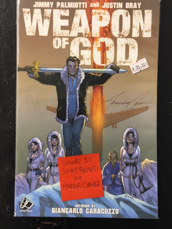 WEAPON OF GOD (SIGNED)