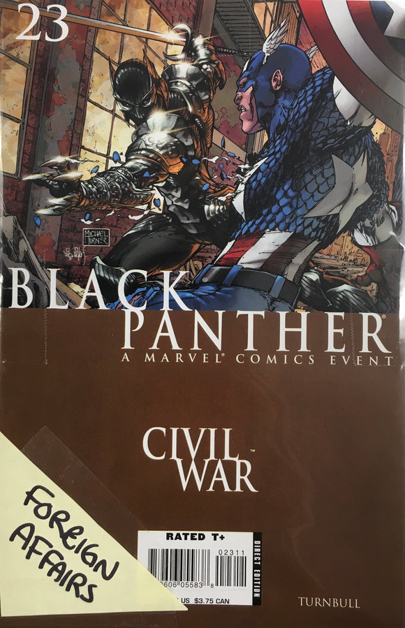BLACK PANTHER (2005) #23-25 FOREIGN AFFAIRS BUNDLE