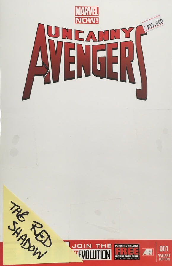 UNCANNY AVENGERS 2012 #1-5 THE RED SHADOW BUNDLE