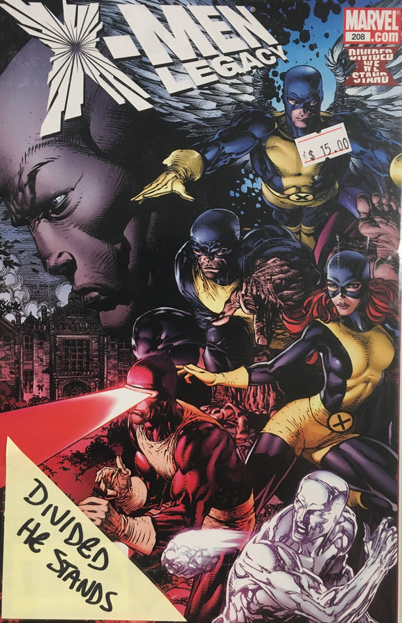 X-MEN LEGACY #208-212 DIVIDED HE STANDS BUNDLE