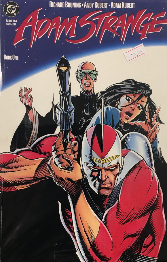 ADAM STRANGE #1-3 BUNDLE