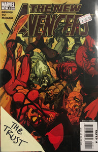 NEW AVENGERS 2005 32-37 & ANNUAL 2 THE TRUST BUNDLE