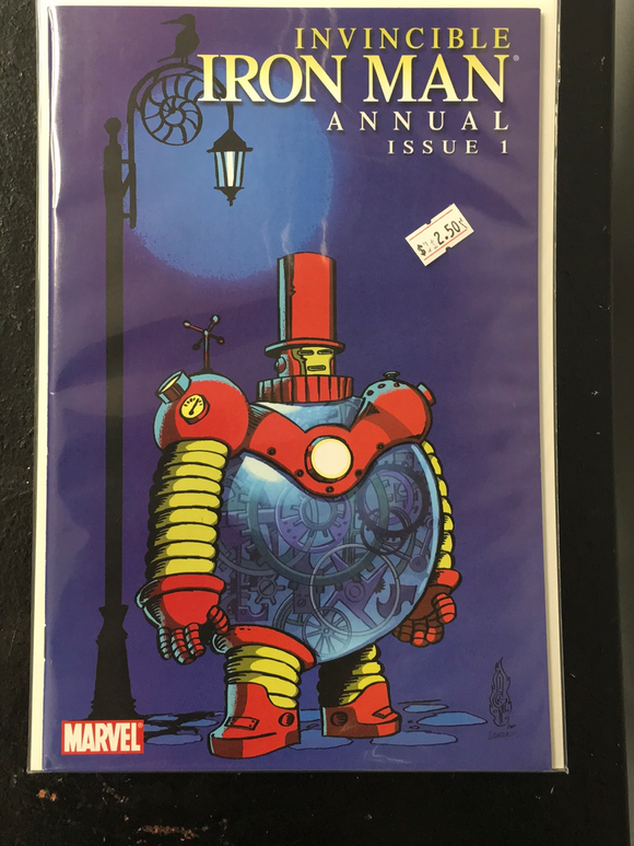 INVINCIBLE IRON MAN ANNUAL 1