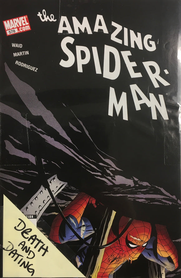 AMAZING SPIDER MAN #578-583 DEATH AND DATING BUNDLE