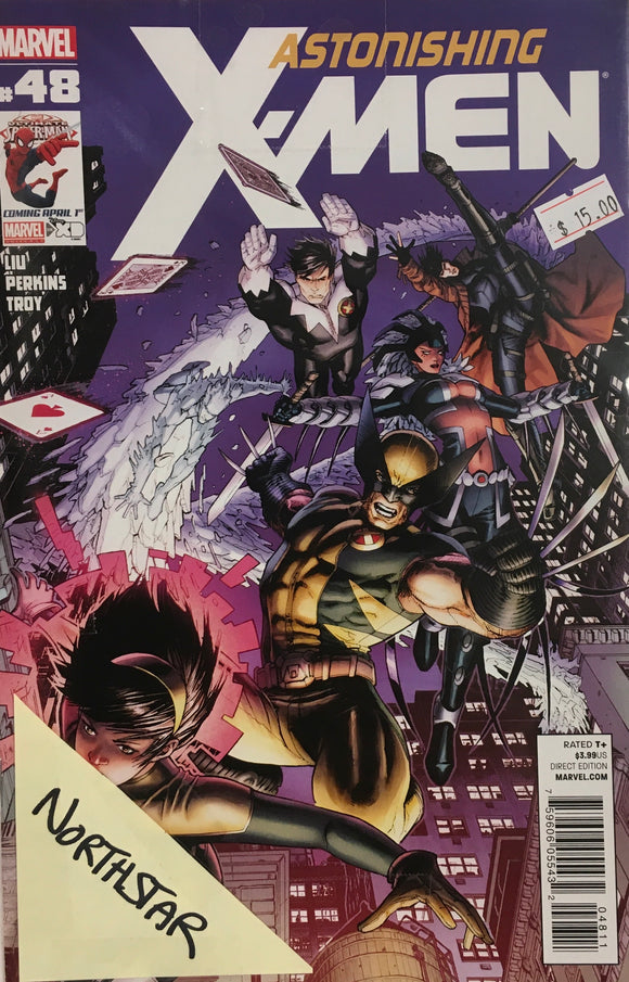 ASTONISHING X-MEN #48-51 NORTHSTAR BUNDLE