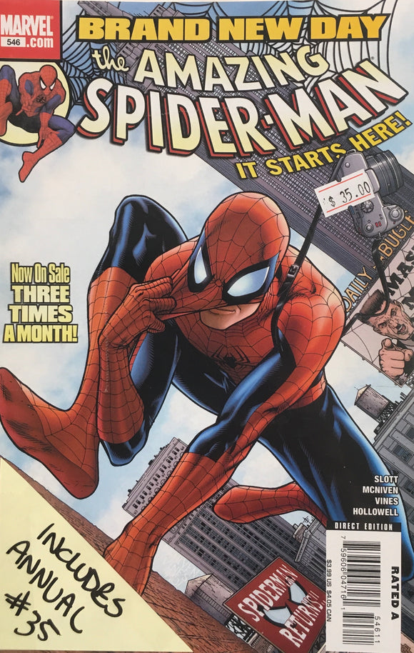 AMAZING SPIDER MAN #546-564 BRAND NEW DAY BUNDLE