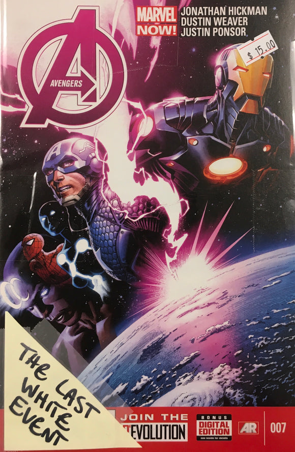 AVENGERS (2013) #7-16 THE LAST WHITE EVENT BUNDLE