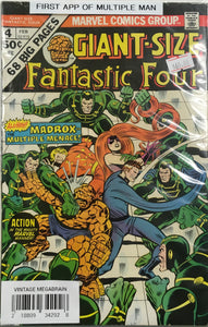 GIANT SIZE FANTASTIC FOUR #04 FIRST APP OF MULTIPLE MAN
