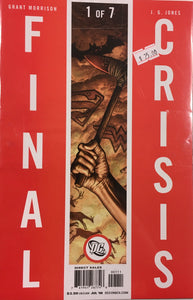 FINAL CRISIS 1-7 COMPLETE BUNDLE