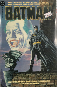 BATMAN THE OFFICIAL COMIC ADAPTATION OF THE WARNER BROS MOTION PICTURE DELUXE EDITION