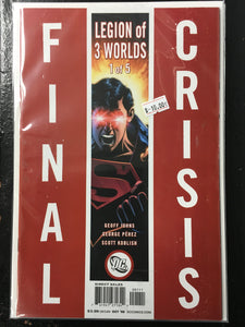 FINAL CRISIS: LEGION OF 3 WORLDS 1-5 BUNDLE