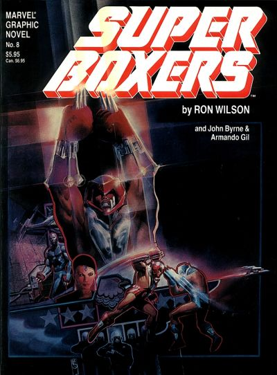 MARVEL GRAPHIC NOVEL #08 SUPER BOXERS