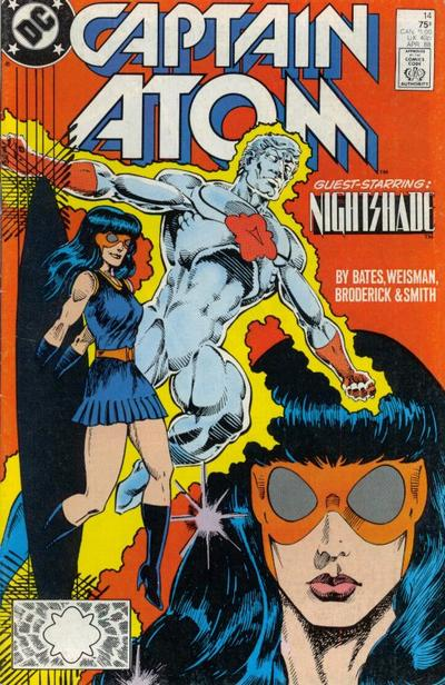 CAPTAIN ATOM #14 (NEWSSTAND)