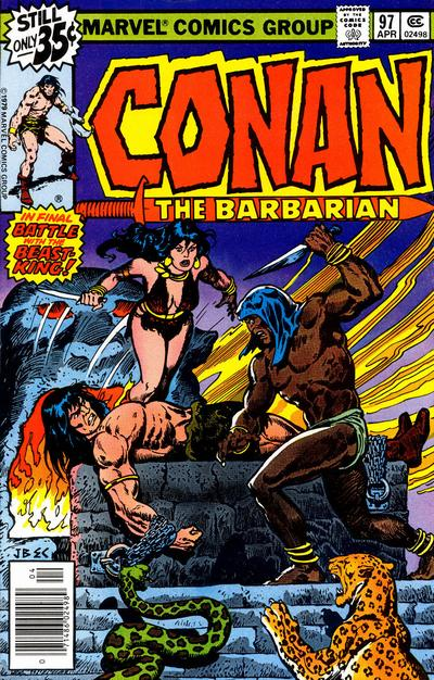 CONAN THE BARBARIAN #97