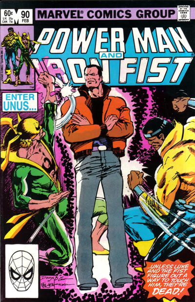 POWER MAN AND IRON FIST #90