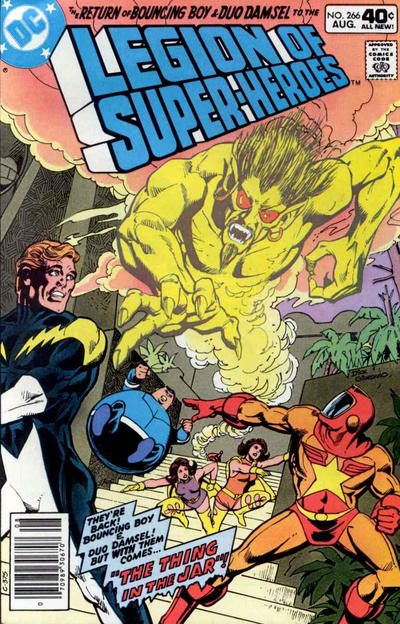 LEGION OF SUPER HEROES #266