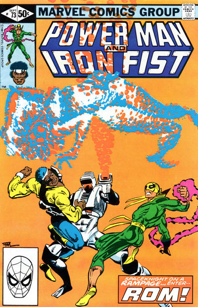POWER MAN AND IRON FIST #73