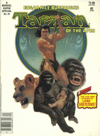 MARVEL SUPER SPECIAL #29 TARZAN