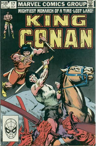 KING CONAN #17 (NEWSSTAND)
