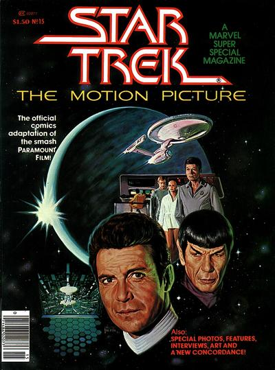 MARVEL SUPER SPECIAL #15 STAR TREK