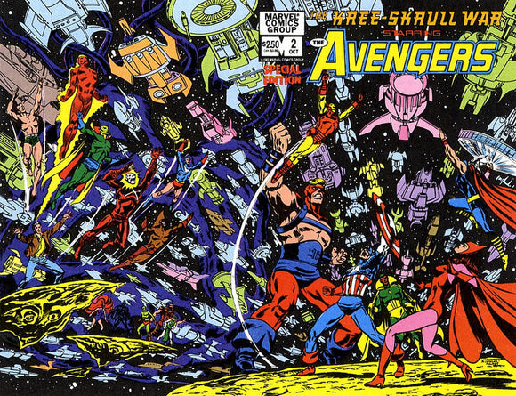 KREE SKRULL WAR STARRING THE AVENGERS #02