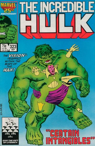 INCREDIBLE HULK #323