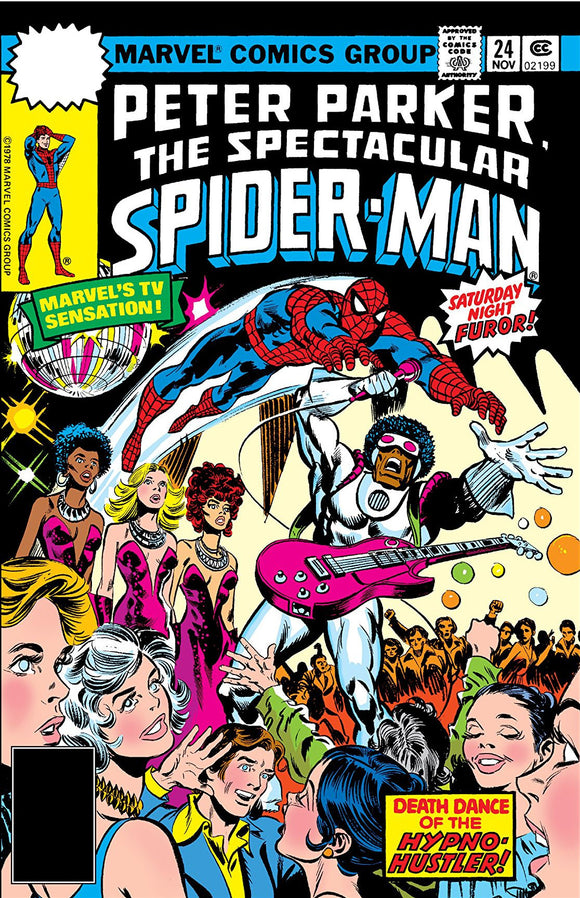 SPECTACULAR SPIDER MAN #24