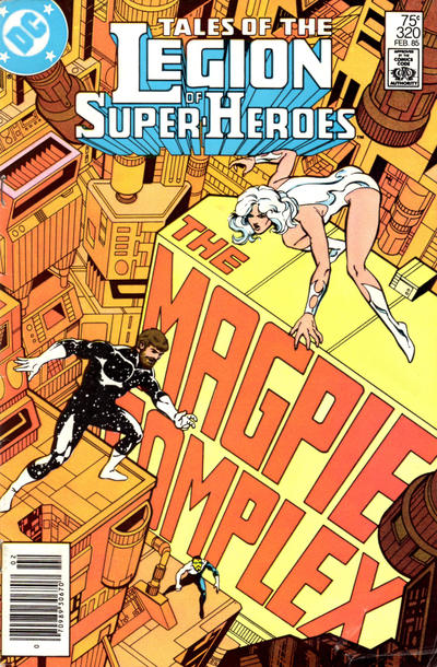 TALES OF THE LEGION OF SUPER HEROES #320