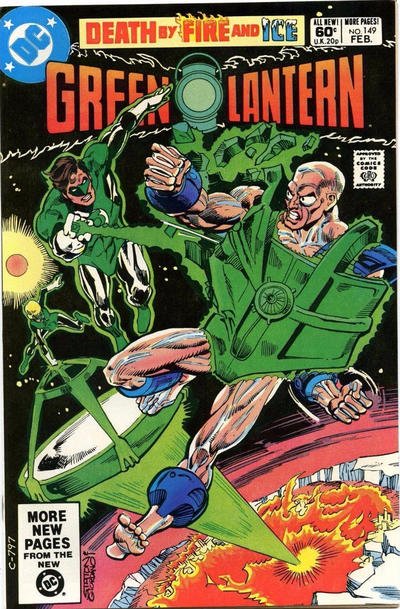 GREEN LANTERN #149 (NEWSSTAND)