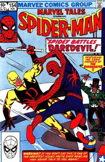 MARVEL TALES #154 (DIRECT) (1966)