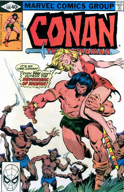 CONAN THE BARBARIAN #108 (NEWSSTAND)