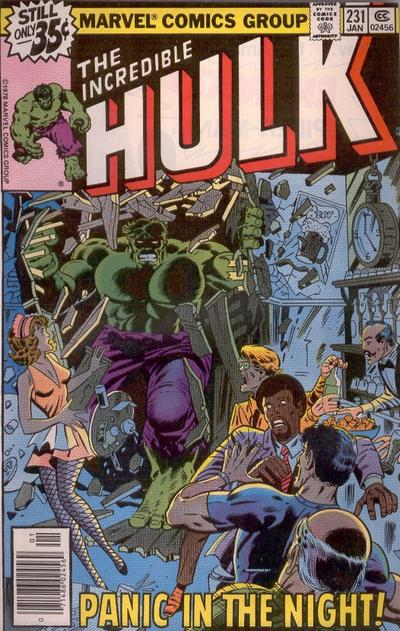 INCREDIBLE HULK 231