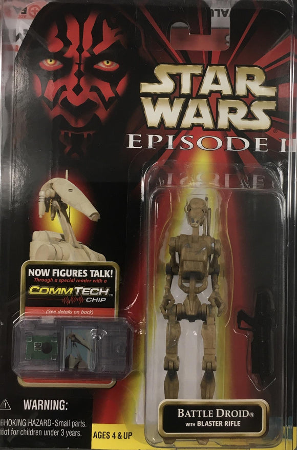 STAR WARS FIGURE / BATTLE DROID